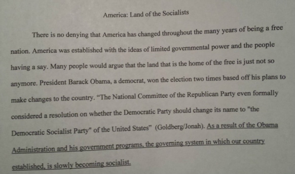 essay supporting obama